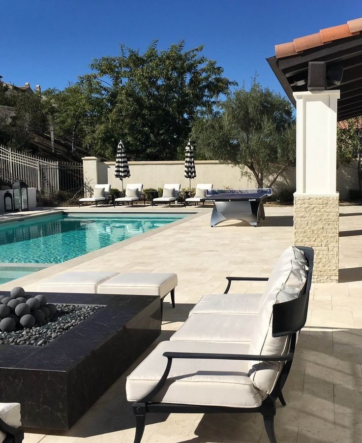 Discounted Furniture Stores Near Me: Kylie Jenner's Backyard Pool