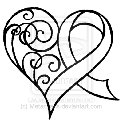 Awareness Ribbon With Heart Tattoo Idea My Ribbon Would Be Teal For
