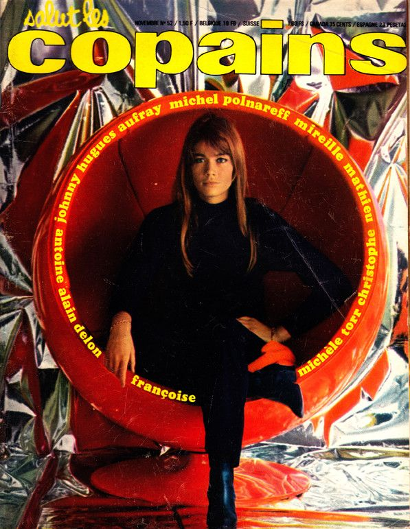 salut les copains page 4 francoise hardy cover 60s music magazine covers ads posters. Black Bedroom Furniture Sets. Home Design Ideas