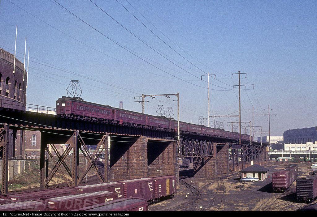 Railpictures Net Photo  Unk Pennsylvania Railroad Mp54 At