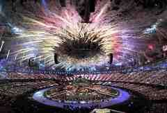 The world was dazzled by a spectacular opening ceremony of the London 2012 Olympics