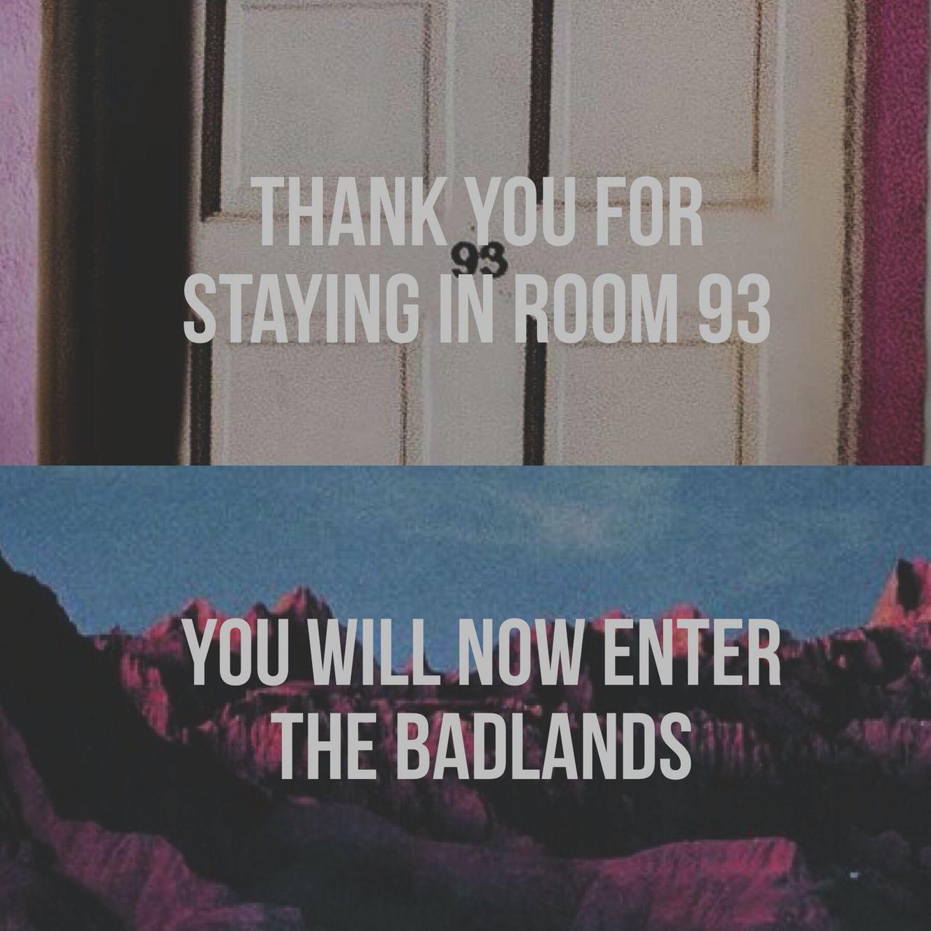 Room 93 badlands Halsey (made by @changeurfate) | halsey ...