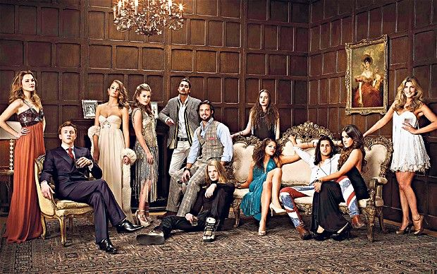 The original Made in Chelsea cast, looking fabulous