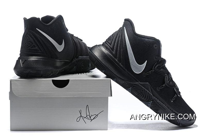 Nike Kyrie 5 Black/Metallic Silver Free