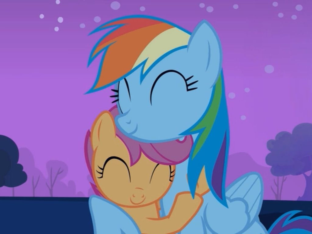 Cute Rainbow Dash And Scootaloo 1 Rainbow Dash Little Pony My Little Pony Friendship Scootaloo is one of the three characters that make up the cutie mark crusaders, who is tomboyish and idolizes rainbow dash. cute rainbow dash and scootaloo 1