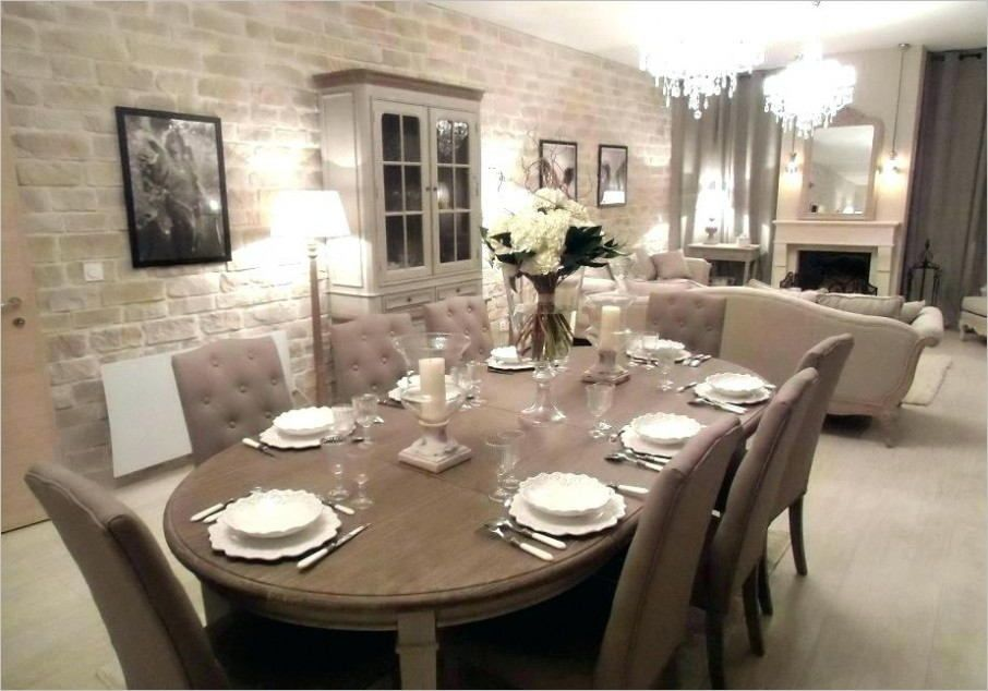 Salon Salle A Manger Deco Campagne Chic in 2020 | Deco salon, Dining room, Living room remodel