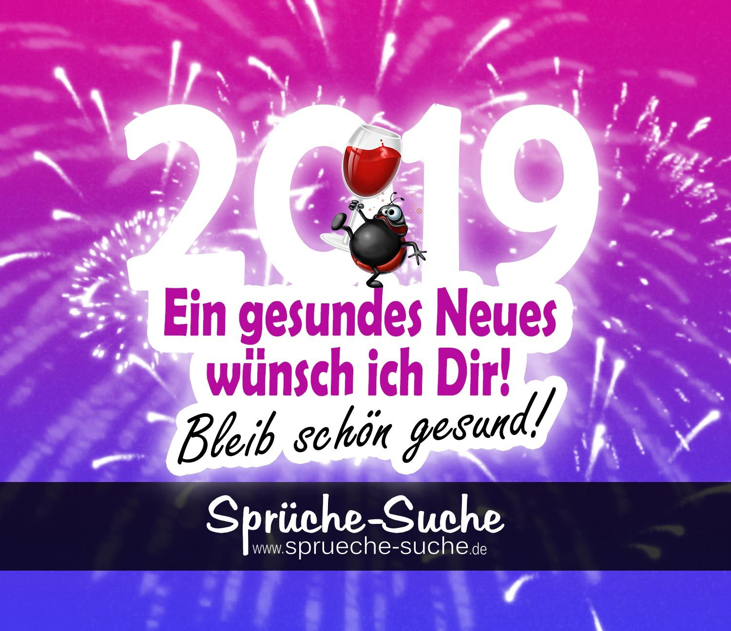 spruch neujahr 2019 silvester neues jahr silvester. Black Bedroom Furniture Sets. Home Design Ideas