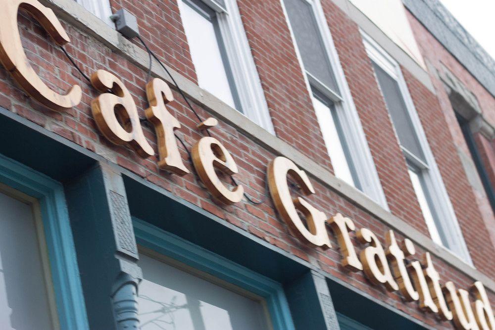 Cafe Gratitude Crossroads kansas city eats. Cafe