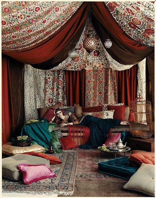 Arabian Nights Living Room Paint Samples Fantasy Brunschwig Fils Spring 2008