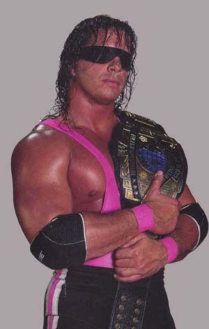 Wwf Intercontinental Champion Bret Hitman Hart Wrestling Superstars Professional Wrestling Hitman Hart
