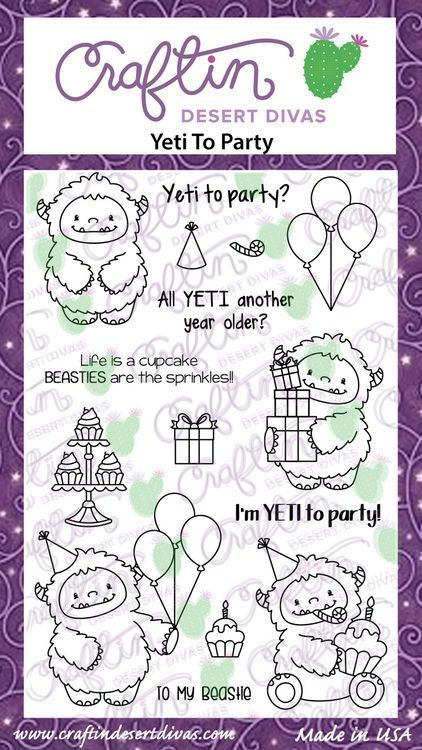 Coloriage A Imprimer Yeti.Yeti To Party Fantastique Coloriage A Imprimer Et Creations