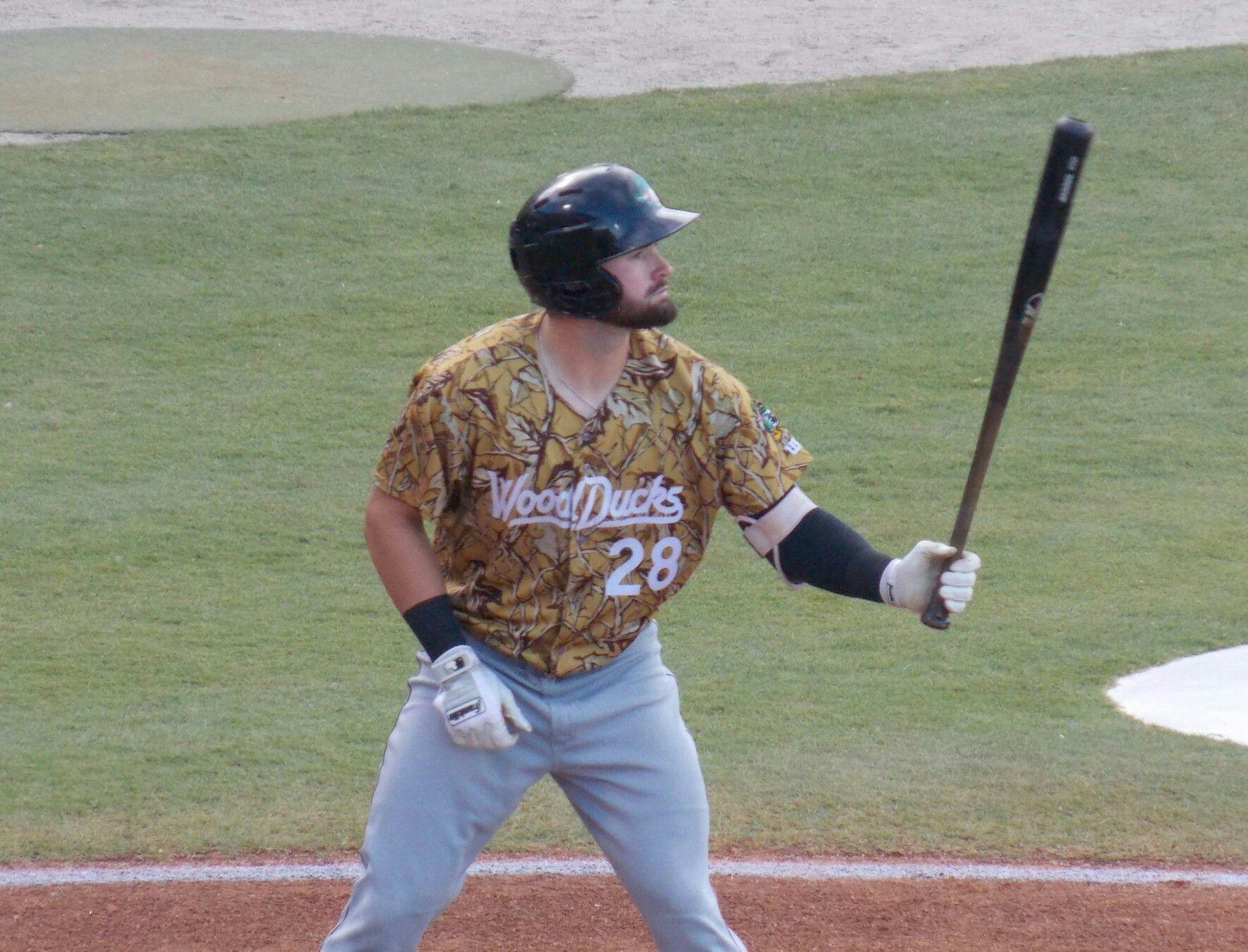 Matt Lipka Down East Wood Ducks Minor League Baseball East Wood Baseball