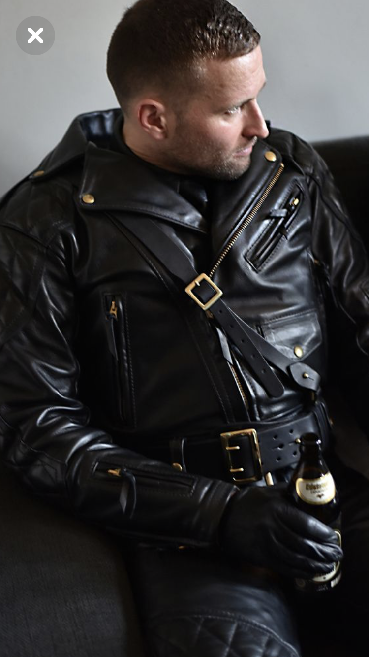 male leather gay daddy photos