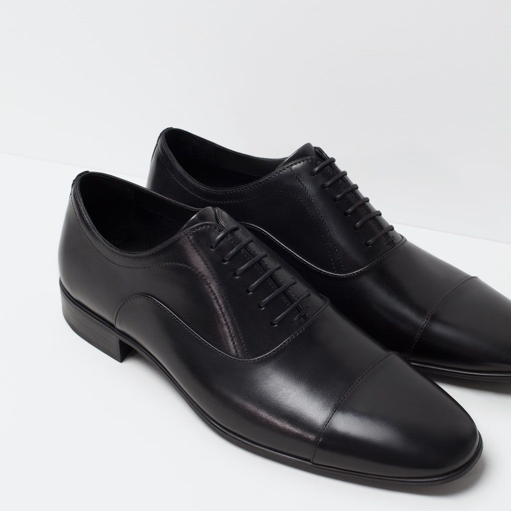 06aadcb3 FORMAL LEATHER OXFORD SHOE-Shoes-Shoes-MAN   ZARA United States ...