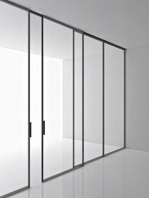 Detail Black Frame Doors