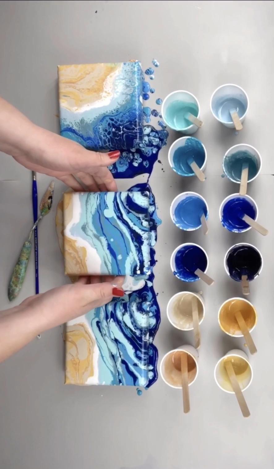 Mini Ocean Painting's