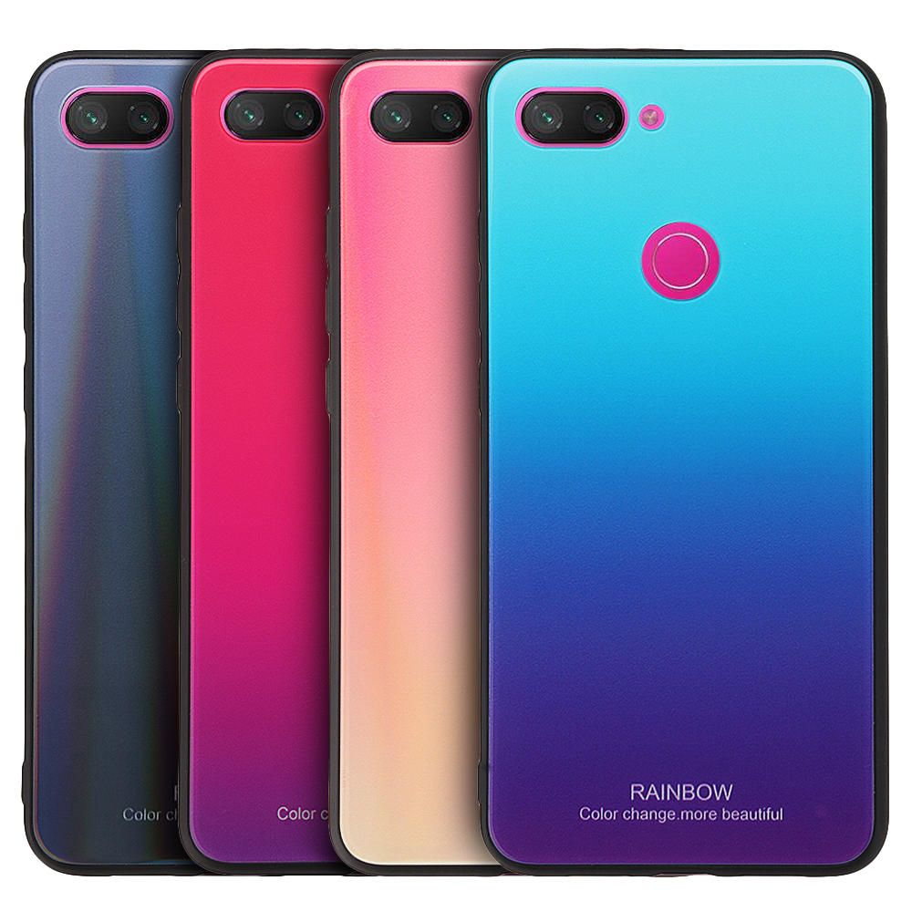 Bakeey Gradient Color Tempered Glass Shockproof Protective Case For Xiaomi Mi 8 Lite Mobile Phone Accessories From Phones Telecommunications On Banggood Com Protective Cases St Kitts And Nevis Laos People