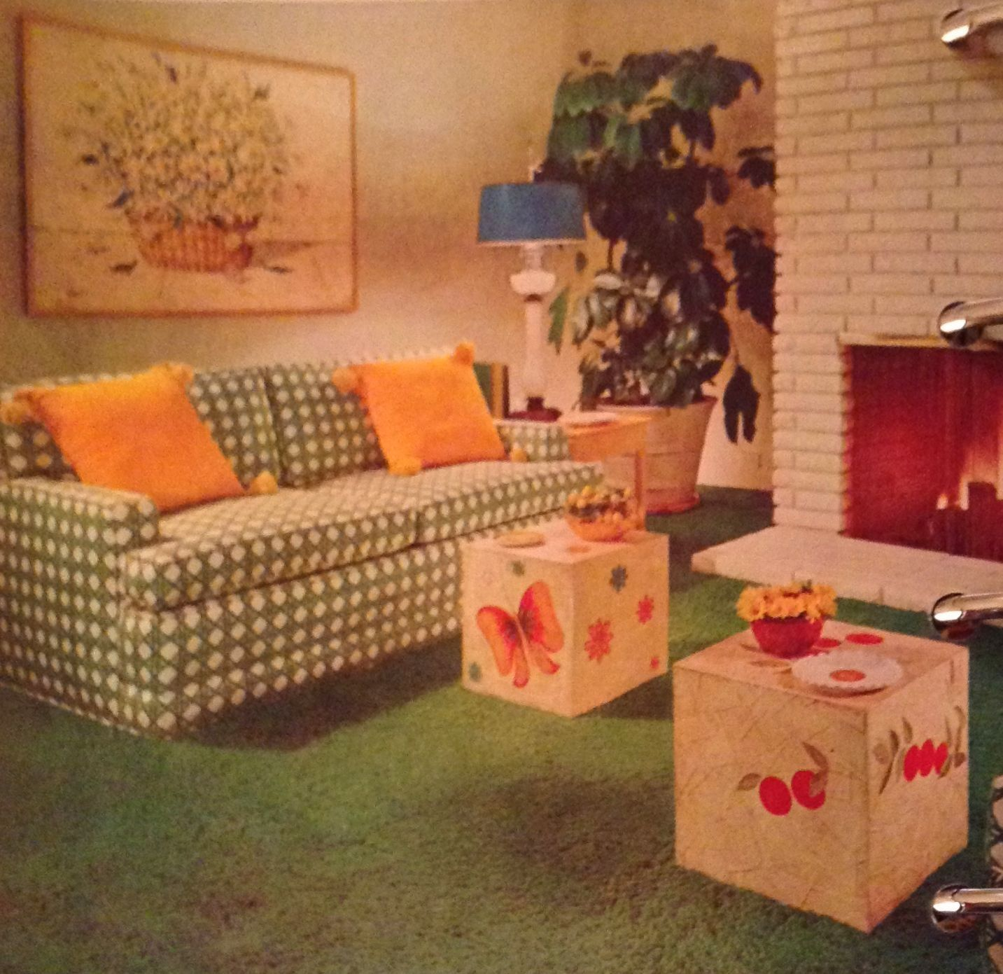 better homes and gardens decorating book, c. 1968 | my dream