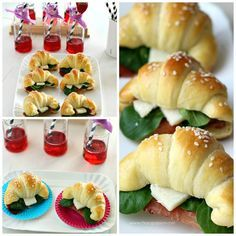 Finger Food: Mini Croissant salati | Chiarapassion