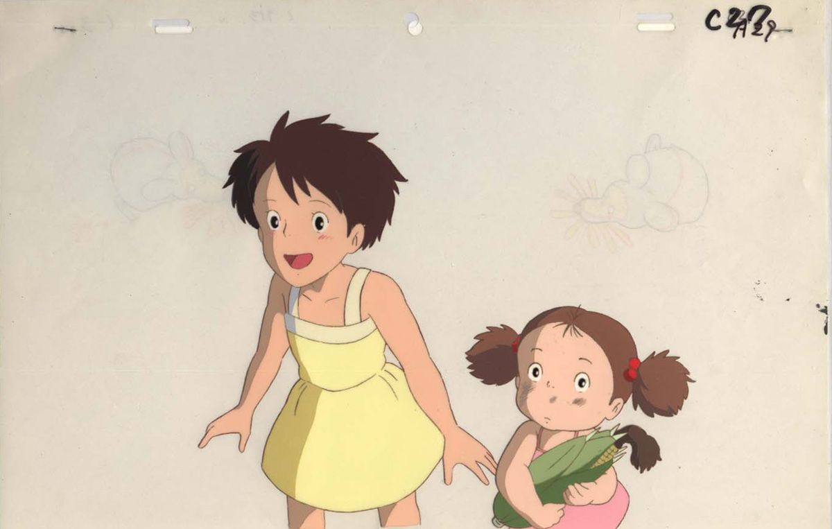 Studio Ghibli C Toei Company C Buena Vista Pictures Sources Gweilo S Anime Cel Gallery Ruby Persso スタジオジブリ ジブリ 宮崎駿