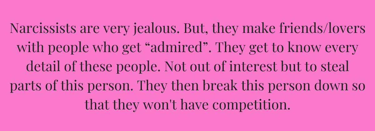 Narcissists are very jealous | NARCISSISTS | Narcissist, How