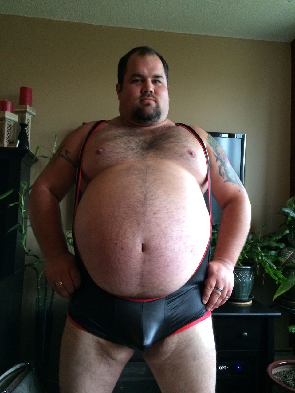 Gainer fat chubby boy can