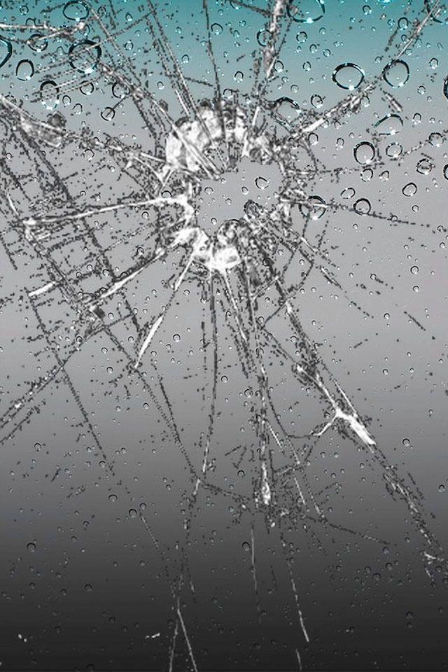 Crashed Screen Phone Screen Wallpaper Screen Wallpaper Ipod Wallpaper