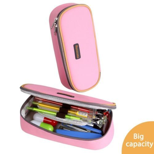 Homecube Pencil Holders Cases Makeup Pouch With Big