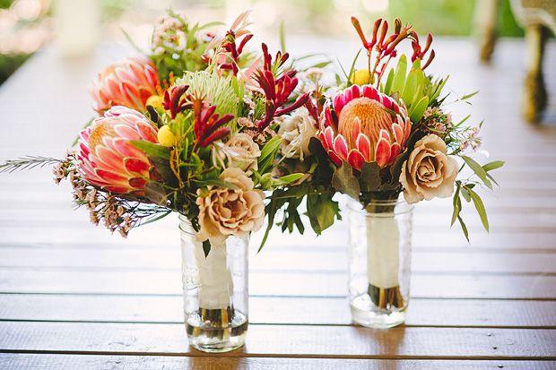 A Nature Inspired, Australian Native Flower Wedding: Kim