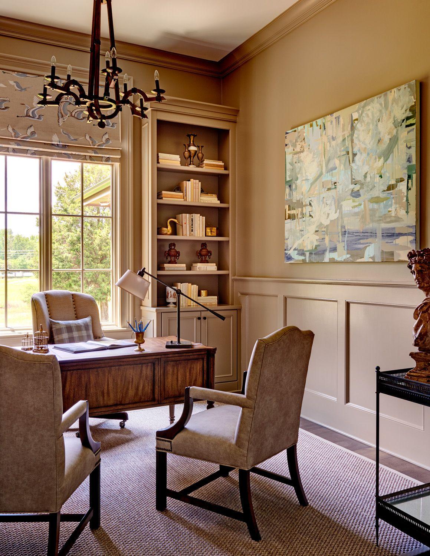 Traci Zeller Interiors | Interior Designer | Charlotte NC | Study