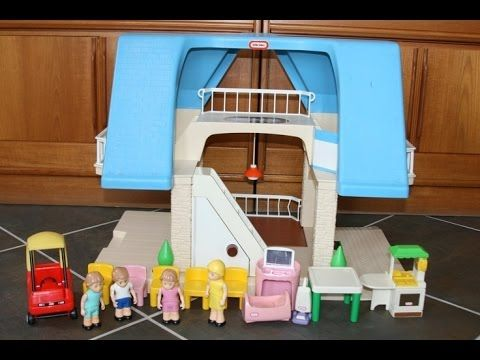 ... Or More Specifically, A Female Toddler Then You Are Going To Look At A  Lot Of Dollhouses And Playhouses Over Time. The Little Tikes Vintage  Dollhouse Is ...