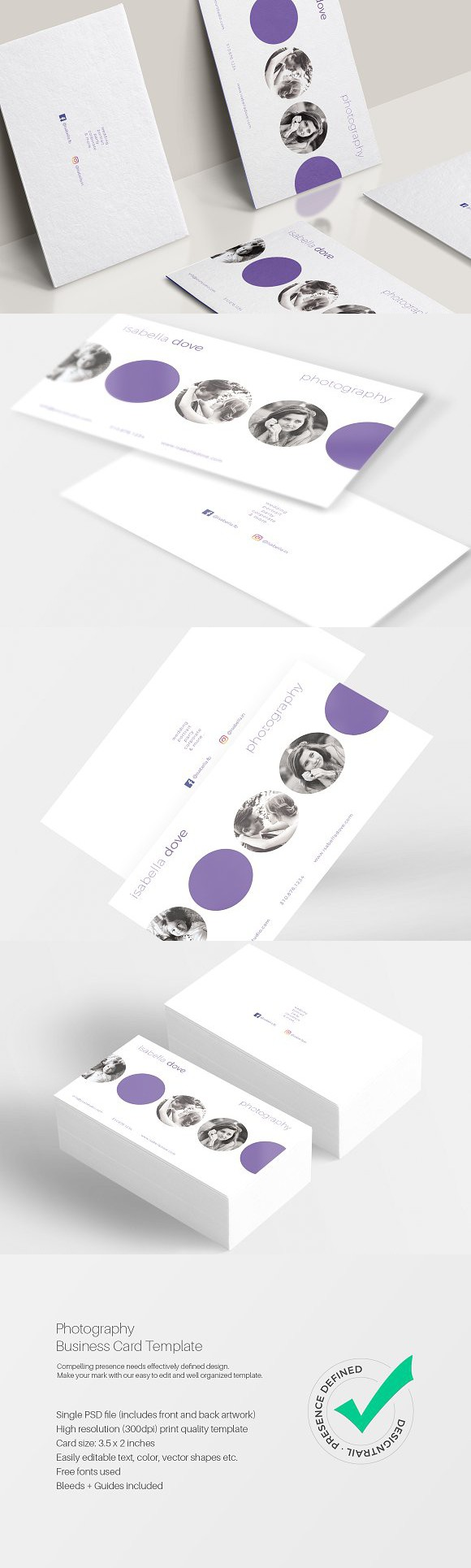 Photography business card template business card templates wordpress landing page themes find this pin and more on business card templates reheart Choice Image