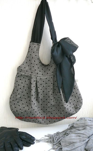 Hobo bag tutorial (it's called hobo, isn't it?) | diy | Pinterest ...