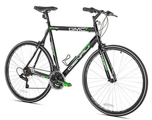 Special Offers Gmc Denali Flat Bar Road Bike 700c Black Green Small 48cm Frame In Stock Free Shipping You Best Road Bike Flat Bar Road Bike Hybrid Bike