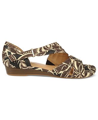 Naturalizer Shoes, Jane Sandals - Shoes - Macy's Or these...with black jeans.  Since they are Naturalizer, you would probably be able to do a whole day shopping in them.