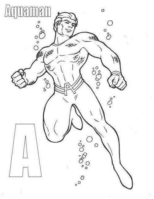 Superhero Alphabet Coloring Pages Super Coloring Pages Coloring Pages Superhero Coloring Pages