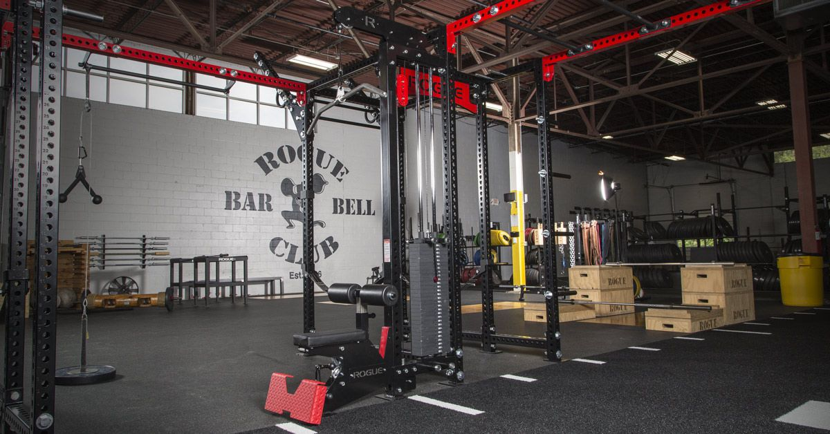 Monster Lat Pull Down Low Row Rack Mounted Rogue Fitness