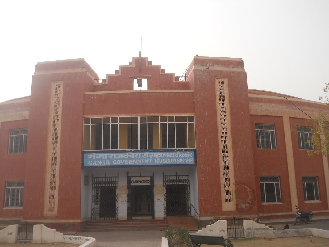 Destination of the week : #Ganga_Golden_Jubilee_Museum Bikaner - Recently, I thought of checking out Ganga golden jubilee museum in Bikaner with my friends. This museum was established in 1937 as a palace. However, later after independence it came under the administration of the #Indian_Government. This #museum has a huge collection of #Rajasthani_artifacts such as coins #paintings, #sculpture etc.