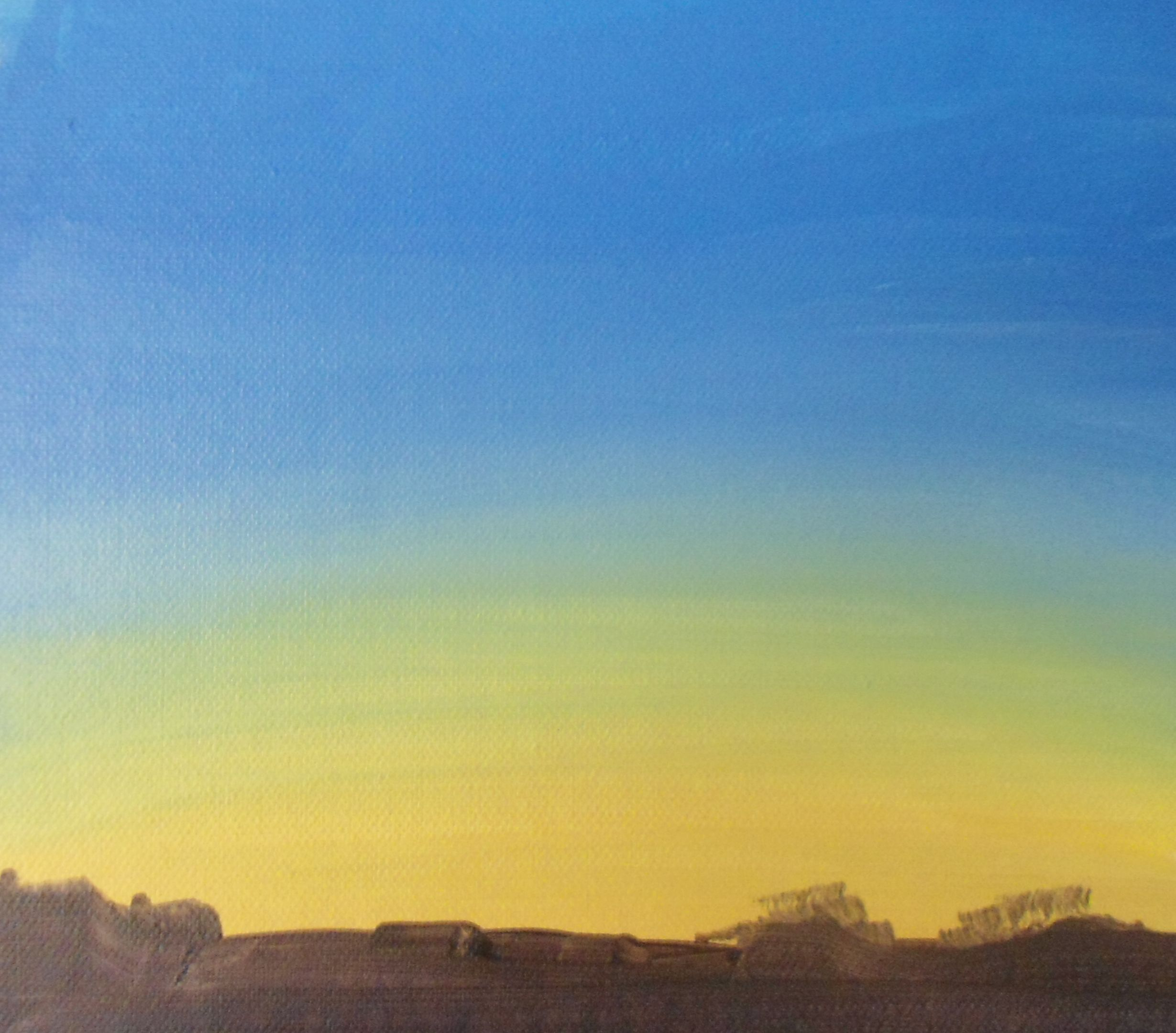 Learn how to paint a sky at dawn in #acrylics with Jon Cox as part of our #landscapes academy. Now available on ArtTutor.