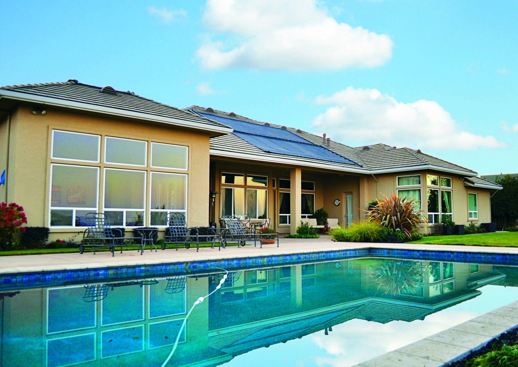Heliocol Solar Pool Heating Installation In California By