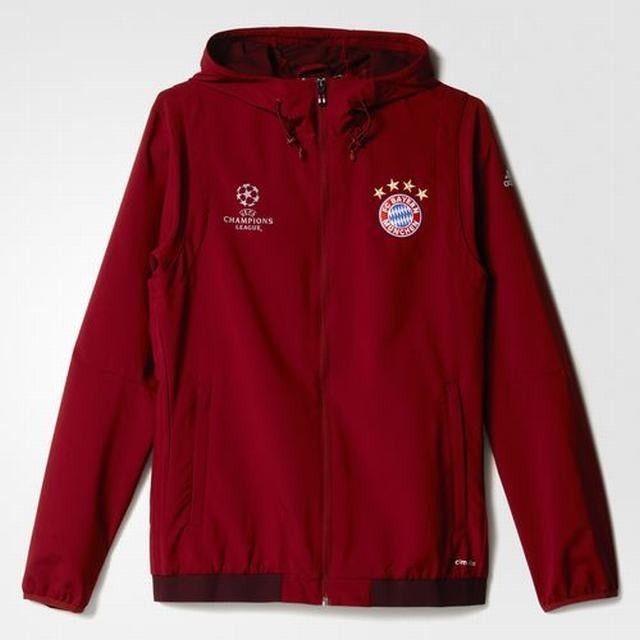 Adidas FC Bayern München UCL Presentation Jacket