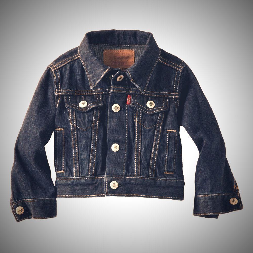 17bdcbbbf91b Levi s Baby-boys Infant 7747 Denim Jacket – Denim jacket tumbled ...