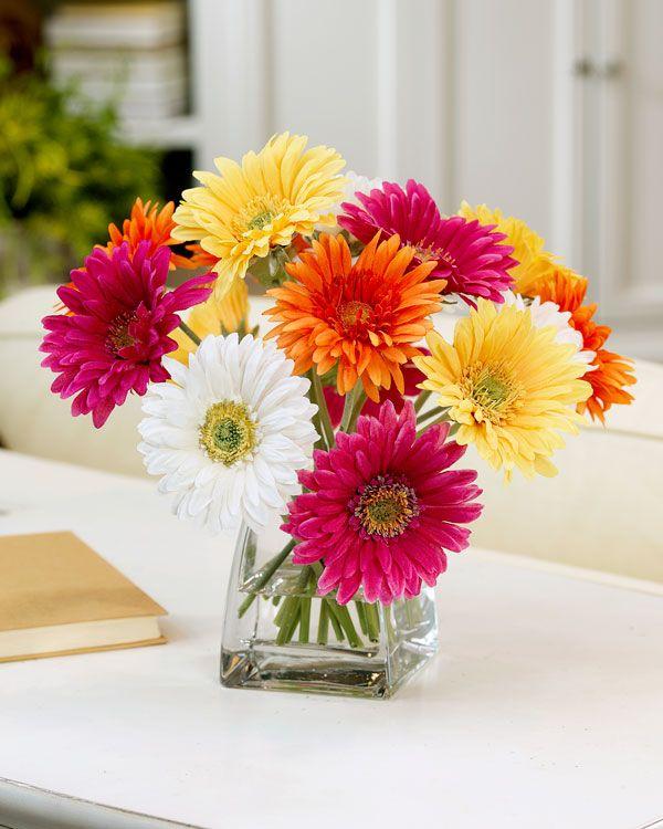 Decorate with gerbera daisy silk flower centerpiece at petals decorate with gerbera daisy silk flower centerpiece at petals nurse pinterest gerbera silk flowers and centerpieces mightylinksfo