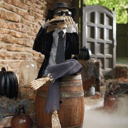 Halloween Prop Haunted Lifesize Animated House Size Life New Zombie - life size halloween decorations