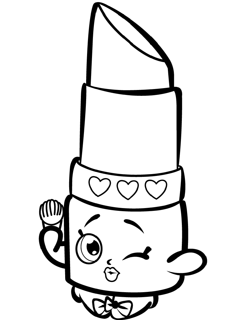 Lippy Lips Coloring Page Free In 2020 Shopkins Coloring Pages Free Printable Shopkin Coloring Pages Shopkins Colouring Pages