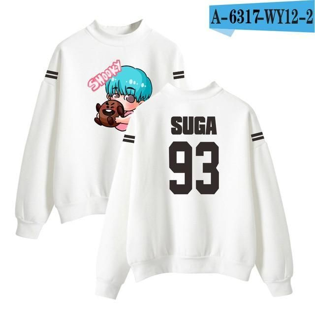 Pin By Jhosa On Suga Merch In 2020 Sweatshirts Printed Sweatshirts Printed Sweatshirt Women