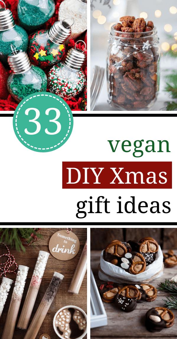 33 Brilliant DIY edible Christmas Gift Ideas (vegan friendly!) #cheapgiftideas