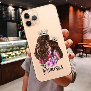 NOWSELLERS™ Princess Female boss coffee Case For iPhone
