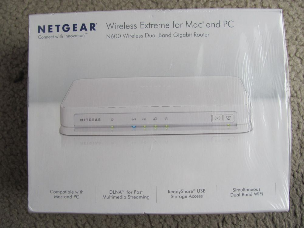 Netgear 8 port router: may 2012.