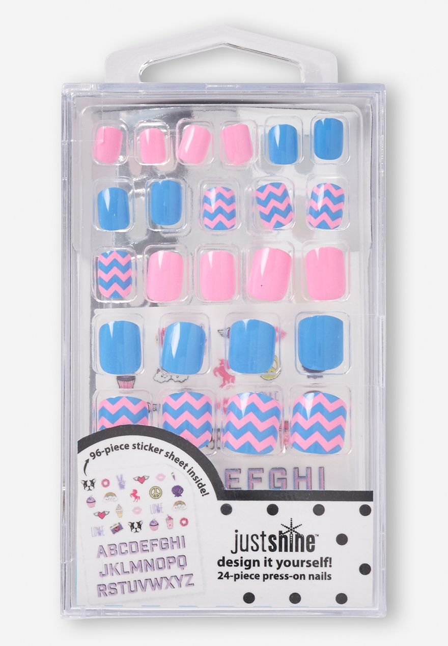 Just Shine Design it Yourself Press-on Nails (24-piece) | Gift Ideas ...